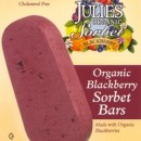Sorbet Bar-Organic Blackberry by Julie's Organic