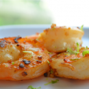 Tiger Prawns with Lime Zest