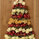 Healthy Christmas Tree Food Art