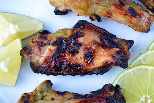 chicken and lime