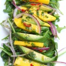 Arugula Salad with Mango and Avocado