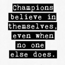 What Makes a Champion Different