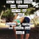 Progress is Progress No Matter How Small