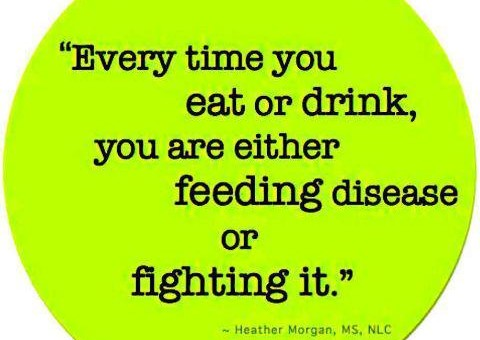 Are You Feeding Disease or Fighting It?