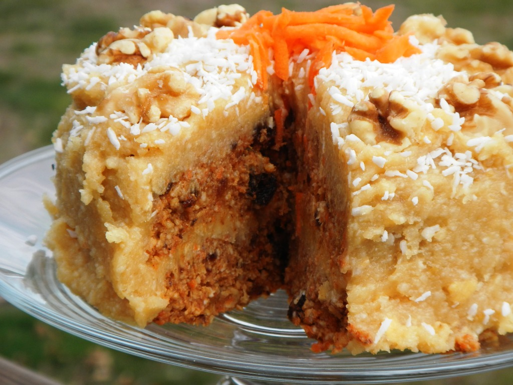 Healthy Carrot And Date Cake Recipe